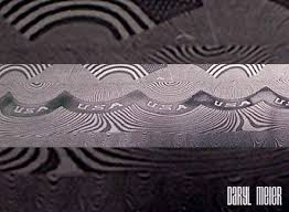 Damascus Steel Patterns Cool Could Any Of You Guys Explain Damascus Steel Pattern Welded Steel