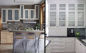 glass kitchen cabinet doors. Wonderful Glass Glass Kitchen Cabinet Doors Home Interiors Regarding Plans 19 With A