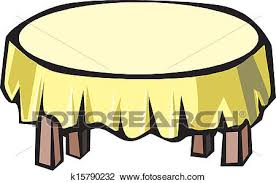 round table clipart. Brilliant Table Clipart  Wooden Round Table  Fotosearch Search Clip Art Illustration  Murals Drawings Throughout Round Table