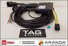 direct plug in towbar trailer wiring harness kit ecu module image is loading direct plug in towbar trailer wiring harness kit