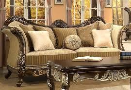 traditional sofa designs. Traditional Wooden Sofa Designs Set E