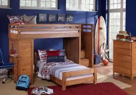 bunk bed with desk. Creekside Taffy Twin Step Bunk Bed With Desk - Boys\u0027 Bedroom Sets Light Wood H