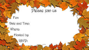 Fall Party Invitations Fall Party Invitations And The Divine Concept