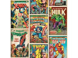 Disney Marvel Papierbehang Heroes Multi Hubo