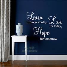 inspiration quote wall sticker learn live hope diy home decoration wall sticker wall art decor free shipping dq11195 on diy inspirational quote wall art with inspiration quote wall sticker learn live hope diy home