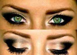 smokey eye makeup for green eyes photo 3