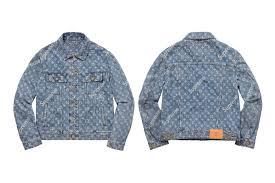 jacquard denim trucket jacket