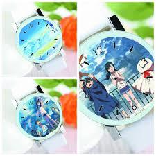 Đồng hồ đeo tay nam nữ IN HÌNH Jibaku Shounen Hanako-kun Owari No Seraph  Sát phá lang Tenki no Ko anime chibi giá cạnh tranh