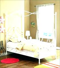 Twin Bed Canopy Cover Beds Covers Frame Medium Size Of Endearing
