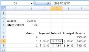 credit card payoff calculator excel how to create a credit card payment calculator