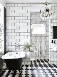 black and white tile floor patterns.  Black Black And White Checked Mosaic Bathroom Tiles On Black And White Tile Floor Patterns