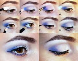 makeup ideas for prom silver blue eye makeup for brown eyes these are the