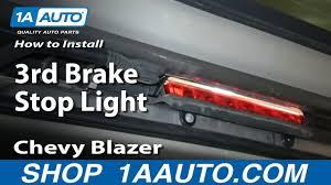 2002 Chevy Trailblazer 3rd Brake Light How To Replace 3rd Brake Light 00 06 Chevy Suburban