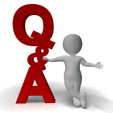 Question and Answer Q&A Sign And 3d Character As Symbol For Support ...