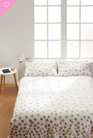 kitty otoole elegant whimsical bedroom: with a gold metallic spot print all over this quilt cover set will add a little bling to your bedroom made from a soft cotton queen quilt cover set comes
