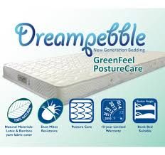 Dreampebble GreenFeel with PostureCare Spring Mattress