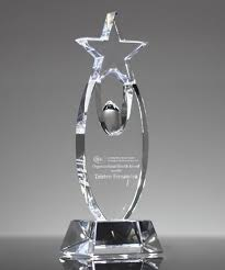 Inspirational Star Award Trophies Corporate Awards Recognition