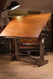 Table Dessin Ancienne Unic Meuble Industriel Vintage De Renaud