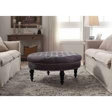 ... Medium Size Of Coffee Table:amazing Black Leather Ottoman Coffee Table  Oval Ottoman Coffee Table