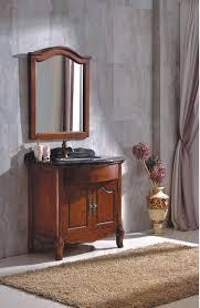 Heiße Verkauf Antike Holz Badezimmerschrank Mit Spiegel 0281 B 6005