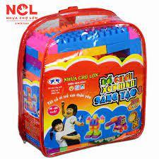 Đồ chơi xếp hình trẻ em Nhựa Chợ Lớn 03 - M982-LR