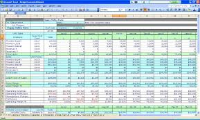 simple business spreadsheet and small business balance sheet ...