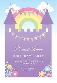 Girls Birthday Invitation Templates Free Greetings Island