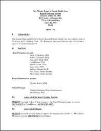 Board Meeting Agenda Samples Template Minutes Of Board Meeting Template 23