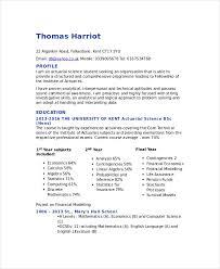 Actuarial Resume Actuarial Resume Fabulous Resume Tips Resume
