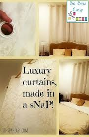 Diy Curtains Easy Diy Curtains Luxury Curtains Made In A Snap So Sew Easy