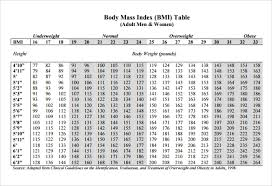 Bmi Index Chart Pdf Bmi Chart Templates 8 Download Free Documents In Pdf Word