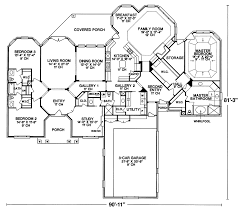 ranch house floor plans. Ranch House Plan First Floor - 026D-0163 | Plans And More R
