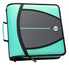 3 Ring Zipper Binder 3 In File Document Expanding Storage