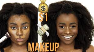 one dollar makeup slay miss a haul review