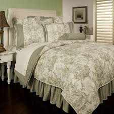 image of french country bedding red