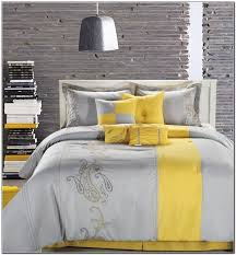 stylish grey and yellow comforters yellow and gray bedding sets beds home grey and yellow comforter sets ideas