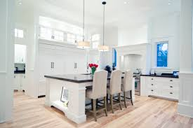 White Kitchen With Hardwood Floors Natural Birch Floor Hardwood Flooring White Kitchen Logs End