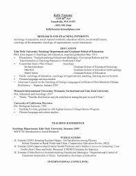 Social Science Researcher Sample Resume Picture Researcher Sample Resume Fresh Awesome Social Science 4