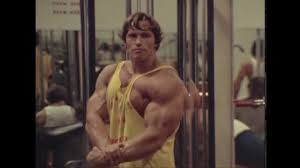 arnold has no easy way out pumping iron tribute