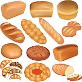 bread clipart. Exellent Clipart Three Realistic Bread Set Of Loaves Bread And A White In Bread Clipart R