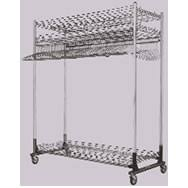 Commercial Coat Racks On Wheels Commercial Garment Rack Systems Industrial Garment Rack Systems 5