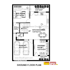 150 Square Feet Room House Plan For 30 Feet By 45 Feet Plot Plot Size 150 Square Yards