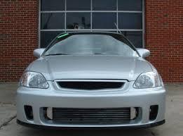 9900 Honda Civic Front Bumper Bys Style Fiberglasscarbon  FBP Backyard Special Bumper