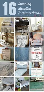 stenciling furniture ideas. Stenciled Furniture Ideas That I Put Together For Hometalk. Stunning_stenciled_furniture_ideas Stenciling G
