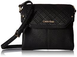 Calvin Klein Permanent Quilted Pebble Flap Crossbody, Black ... & Calvin Klein Permanent Quilted Pebble Flap Crossbody, Black Adamdwight.com