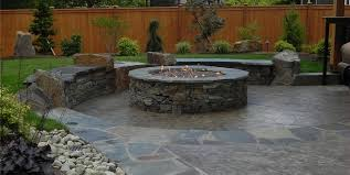covered stamped concrete patio. Sublime Garden Design Snohomish, WA Covered Stamped Concrete Patio