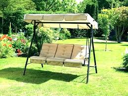 garden treasures porch swing with canopy