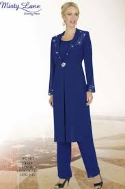 Misty Lane 13535 By Ben Marc 3pc Pant Suit For Mothers Of The Wedding