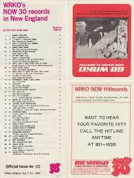 1969 Music Charts Wrko Boston Ma 1969 07 24 In 2019 Music Charts Music