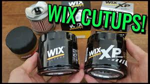 Wix Oil Filters Cut Open Xp Vs Regular Vs Fram Ultraguard